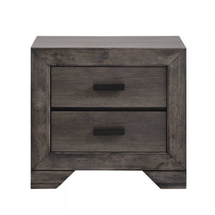 Picture of Nathan Grey Nightstand