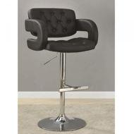 Picture of Black Adjustable Barstool
