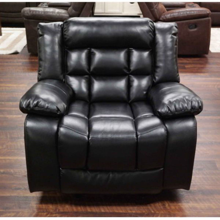 Picture of Blanche Black Glider Recliner