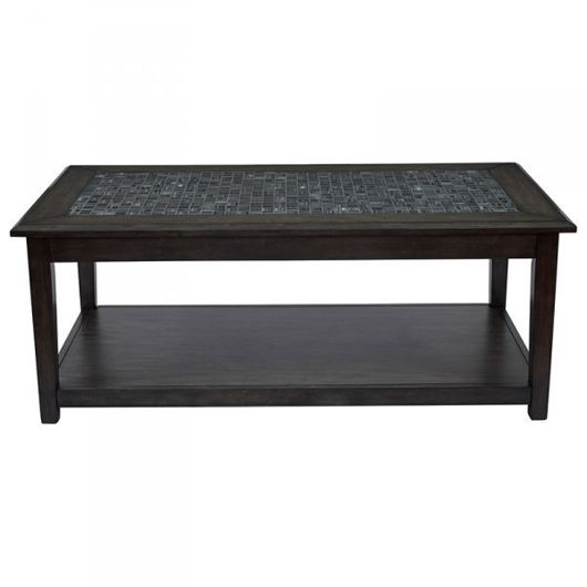 Picture of Grey Mosaic Cocktail Table