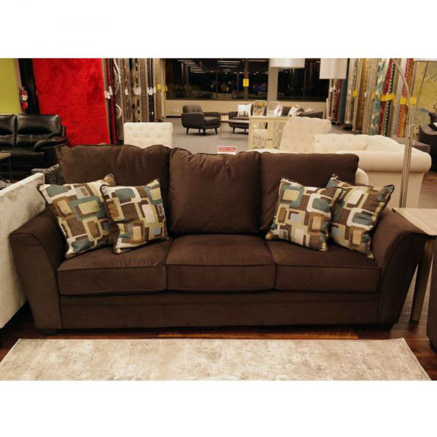 Picture of Flannel Espresso Sofa