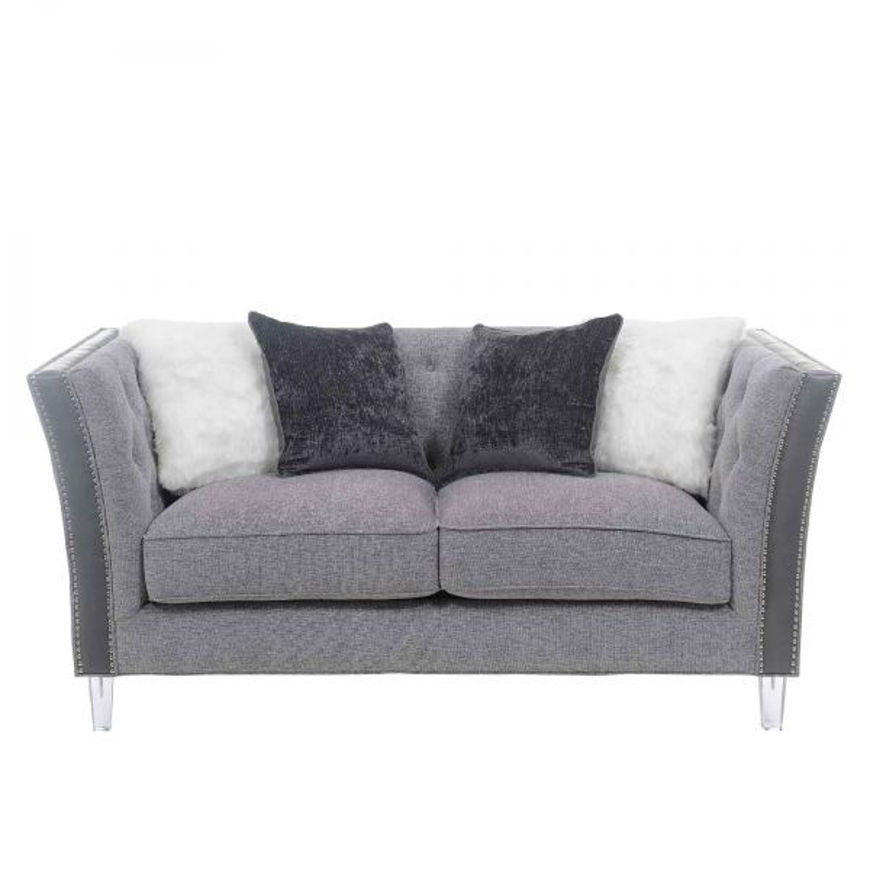 Picture of Patricia Pewter Loveseat