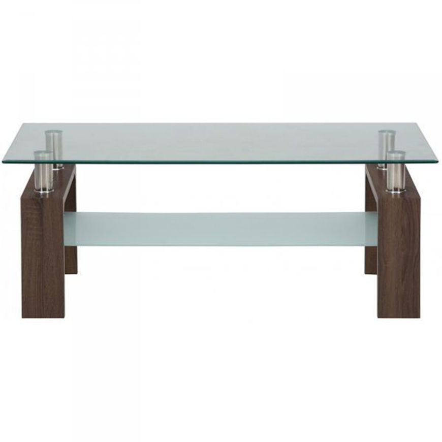 Picture of Compass Rectangle Cocktail Table