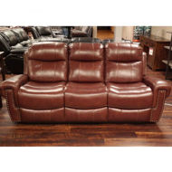 Picture of Maui Leather Power Sofa