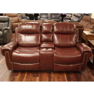 Picture of Maui Leather Power Loveseat