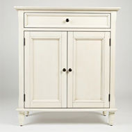 Picture of Ivory Accent Cabinet