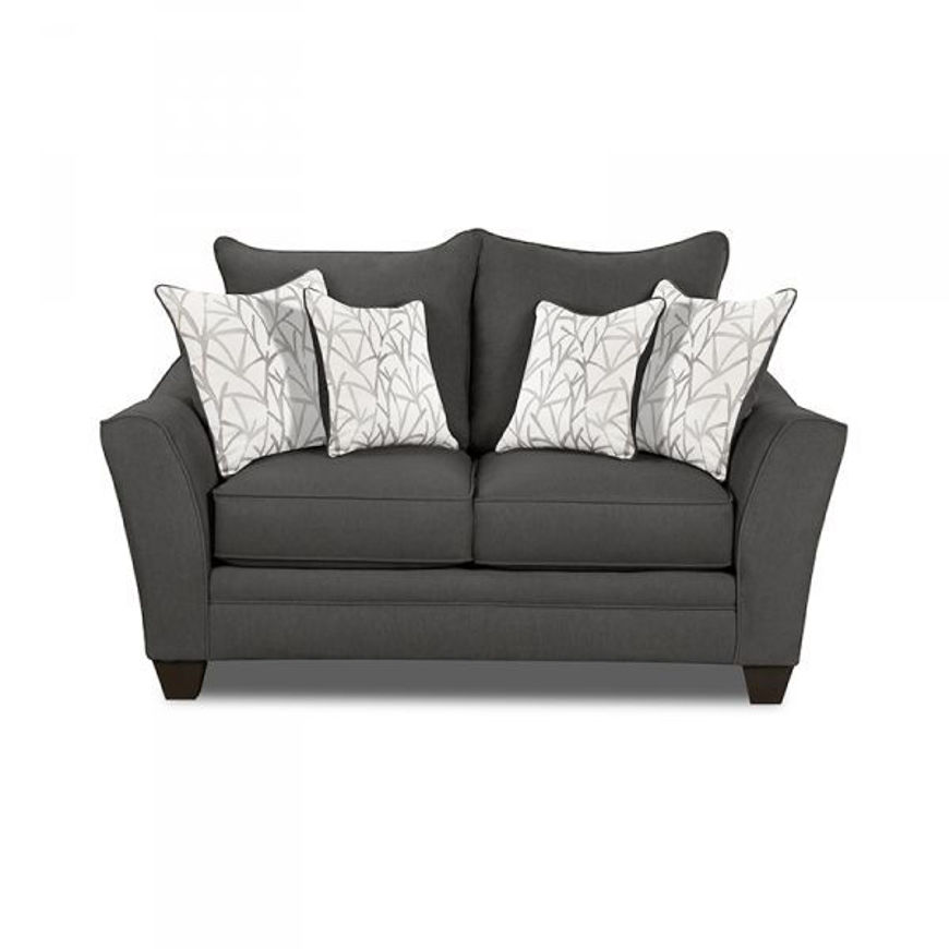 Picture of Flannel Seal Loveseat