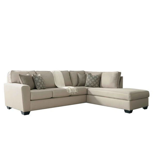 Picture of Calicho Ecru 2 Pc RAF Sectional