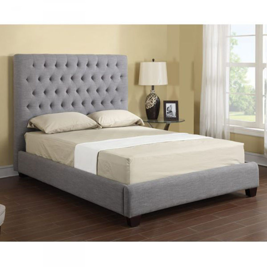 Picture of Sophia Grey King Bed