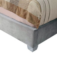 Picture of Lacey Grey King Bed