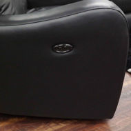 Picture of Cortana Leather Power Loveseat