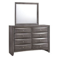Picture of Emily Grey Dresser & Mirror
