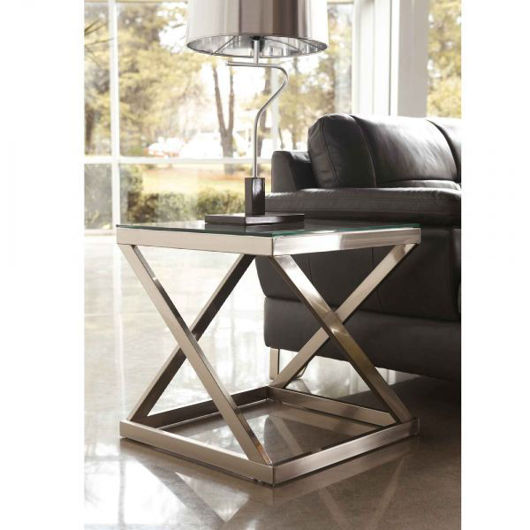 Picture of Coylin Nickel End Table
