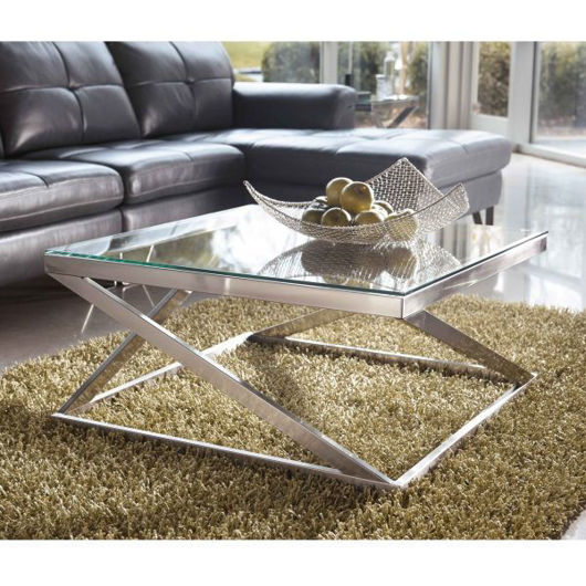 Picture of Coylin Nickel Cocktail Table