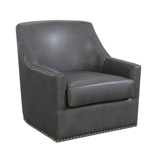 Picture of Patricia Charcoal Swivel Chair