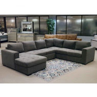 Picture of Posh Smoke 3 Pc LAF Sectional