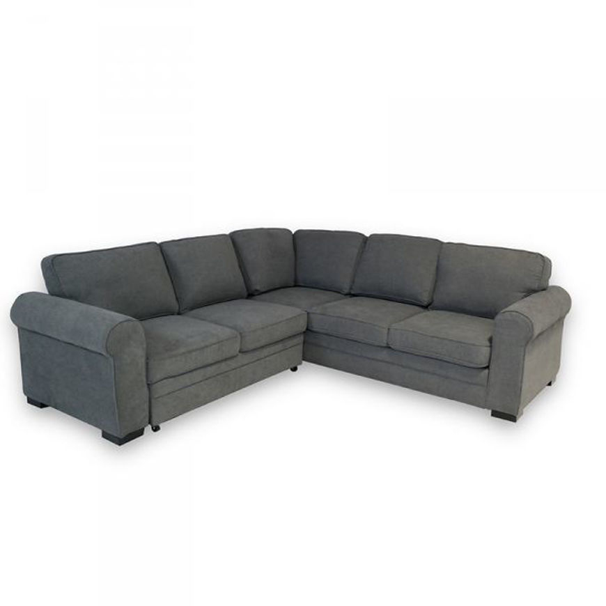 Picture of Abigail 2 Pc RAF Sectional Sleeper