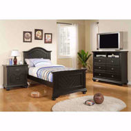 Picture of Brook Black Twin Bed