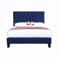 Picture of Amelia Navy Queen Bed