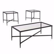 Picture of Augeron Black 3 Pc Table Set