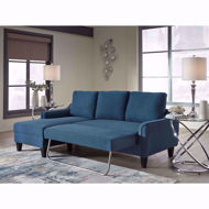 Picture of Jarreau Blue Sofa Chaise Sleeper