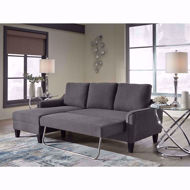 Picture of Jarreau Grey Sofa Chaise Sleeper
