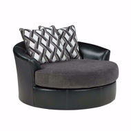 Picture of Kumasi Smoke Swivel Chair