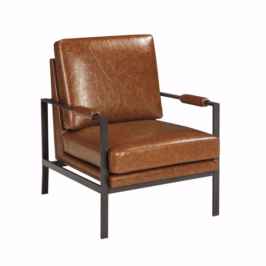 Picture of Peacemaker Brown Accent Chair