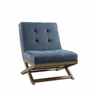 Picture of Sidewinder Blue Accent Chair
