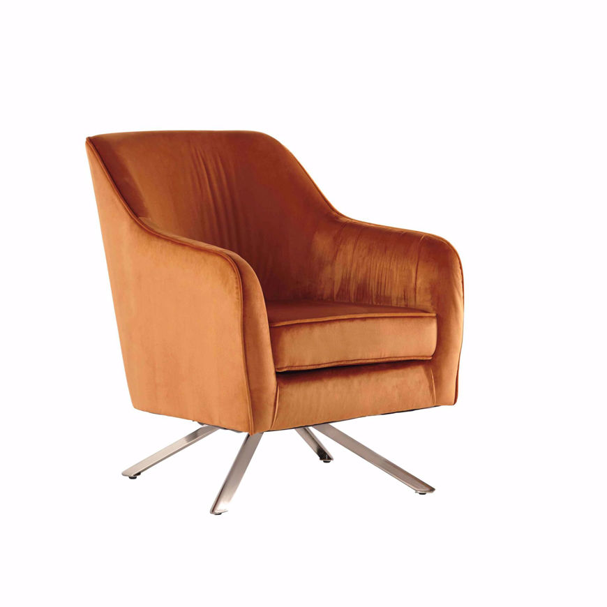 Picture of Hangar Orange Accent Chair