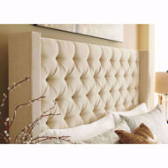 Picture of Norrister Beige King Storage Bed