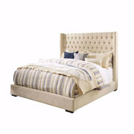 Picture of Norrister Beige King Bed
