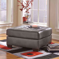 Picture of Alliston Gray Ottoman