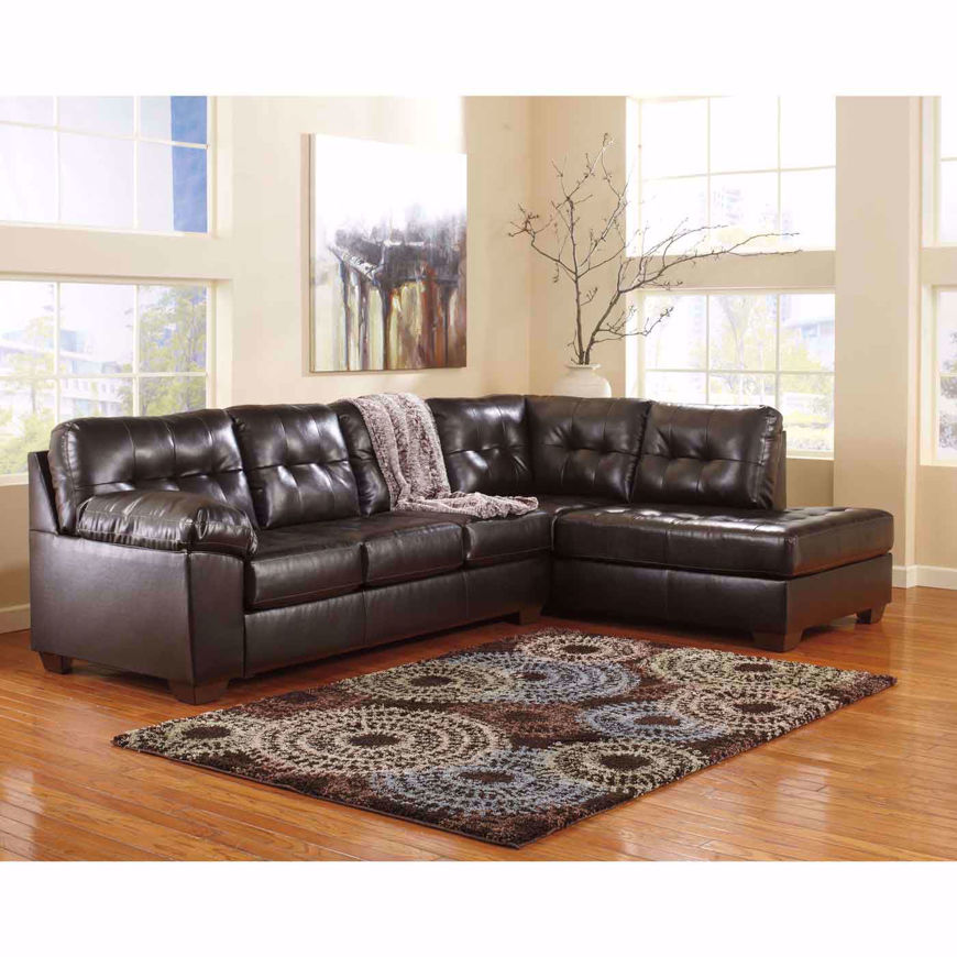Picture of Alliston Chocolate 2Pc RAF Sectional