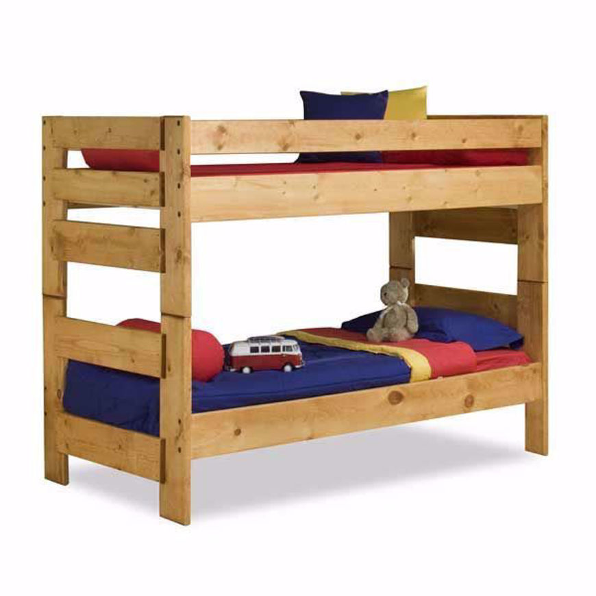 Picture of Wrangler Cinnamon Twin Bunkbed