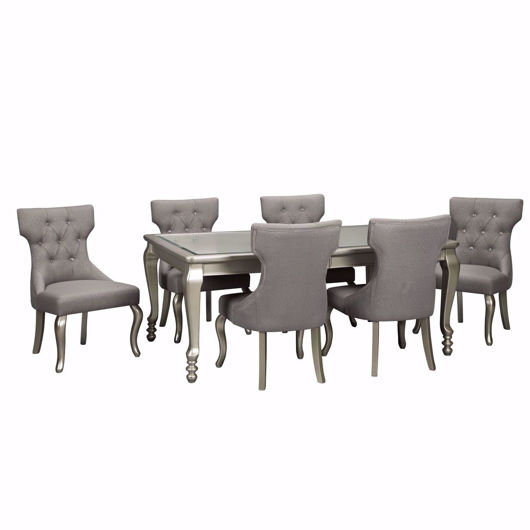 Picture of Coralayne Silver 7 Pc Dining Set