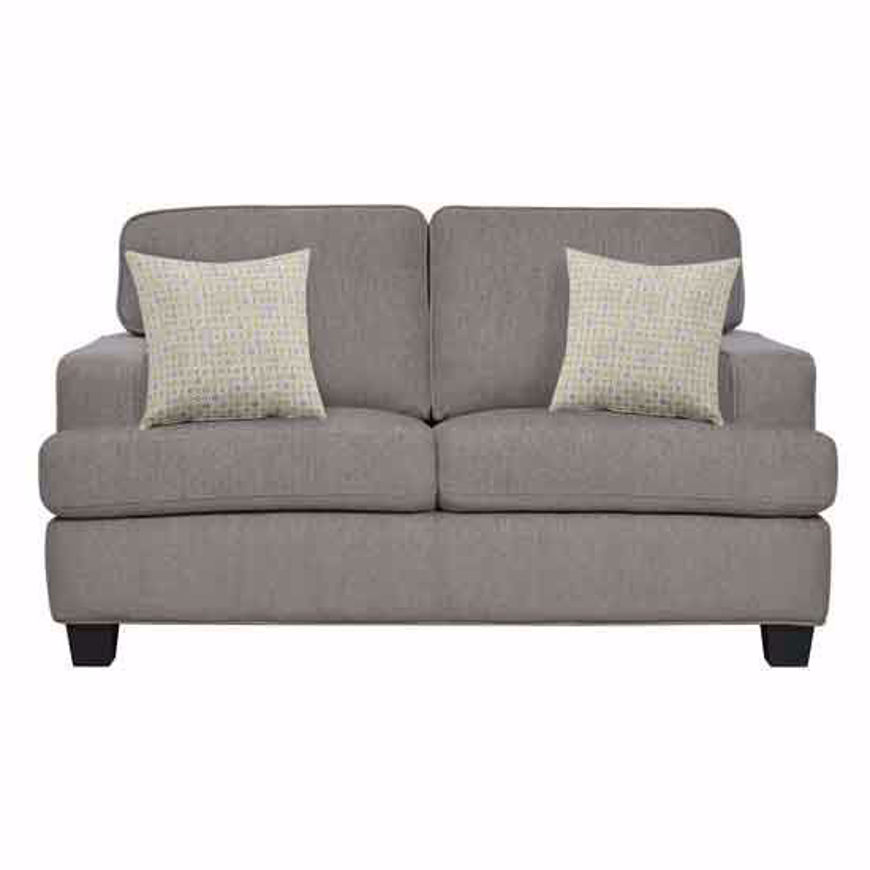Picture of Carter Taupe Loveseat