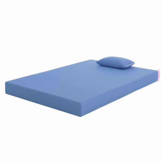"""Picture of TWIN MATTRESS BLUE 7"""""""