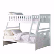 Picture of Twin Full Bunkbed-White