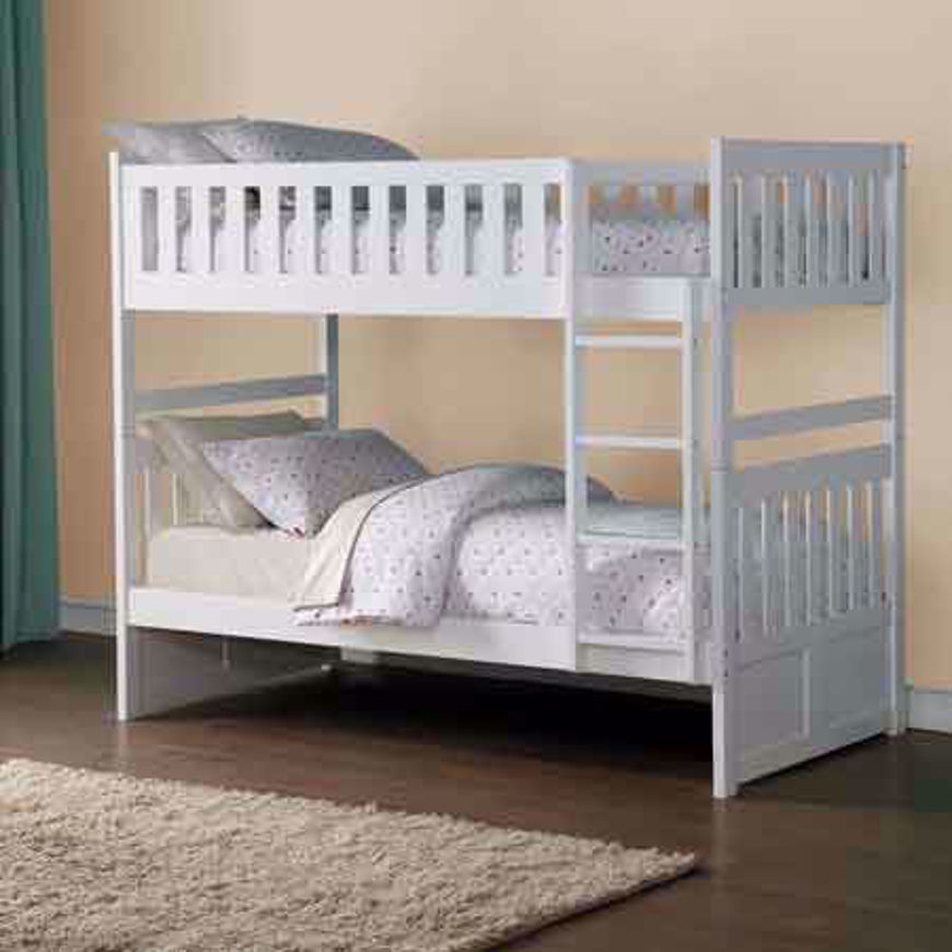 Picture of Twin Bunkbed-White