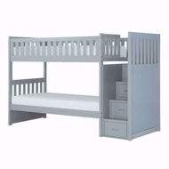 Picture of Twin Step Bunkbed-Gray