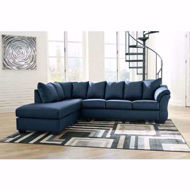 Picture of Darcy Blue 2 PC LAF Sectional