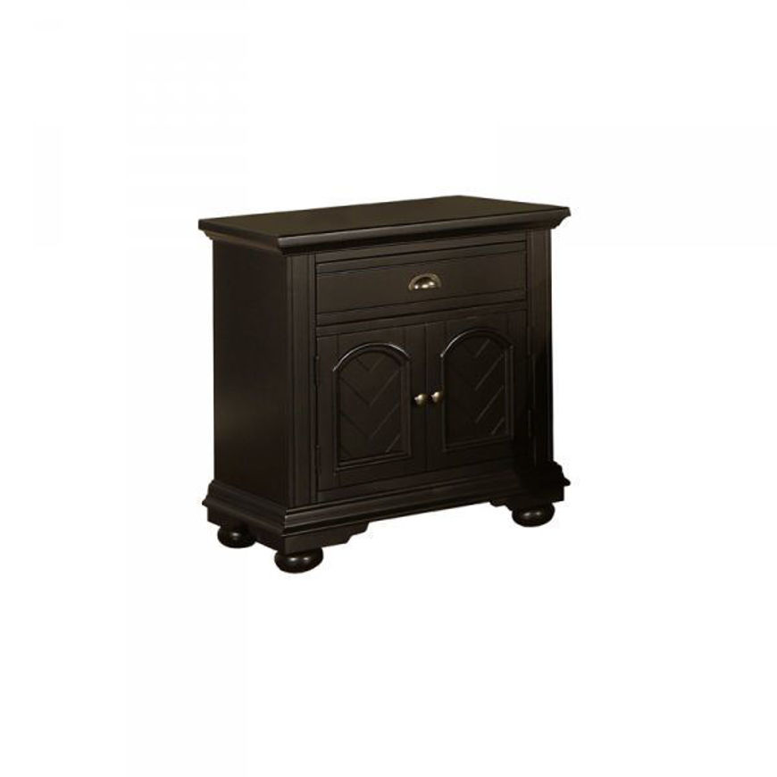 Picture of Brook Black Nightstand