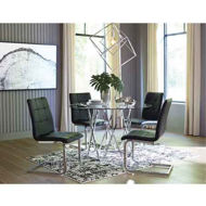 Picture of Madanere 5 Pc Dining Set Black