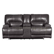Picture of McCaskill Power Leather Loveseat