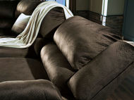 Picture of Chocolate Reclining Loveseat