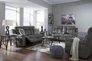 Picture of Jesolo Dark Grey Reclining Sofa