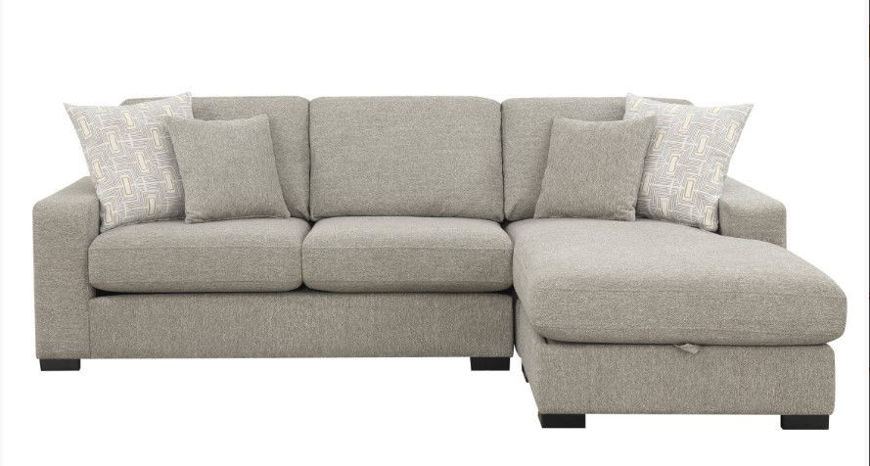 Picture of Brahms 2 Pc Reversible Sectional