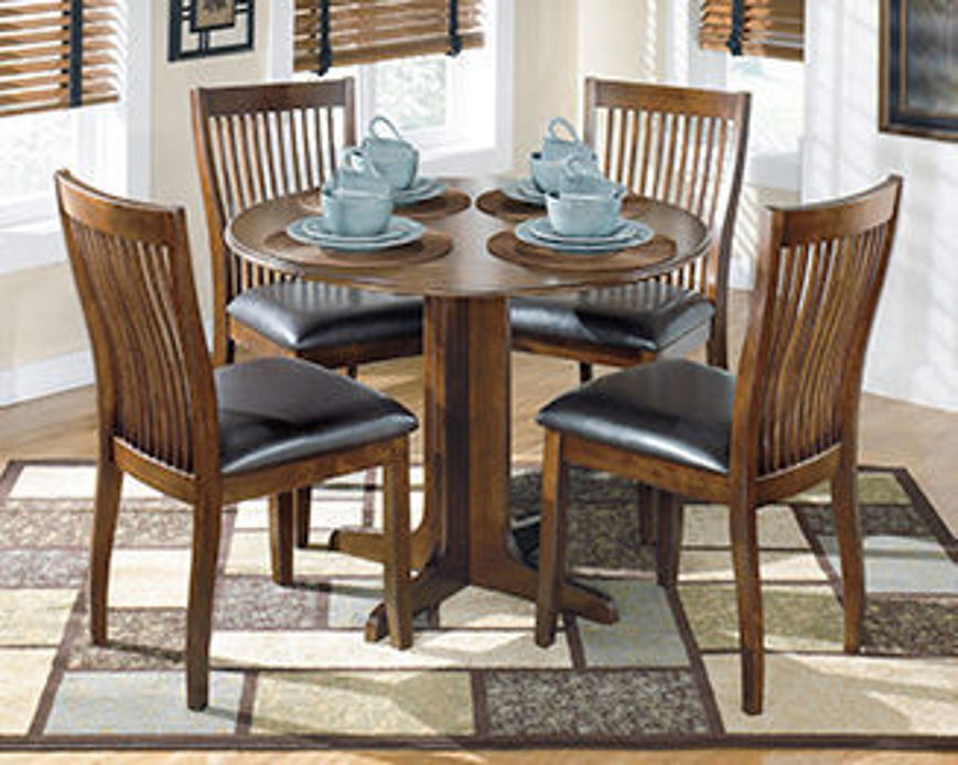Picture of Stuman 5 Pc Drop Leaf Dining Set