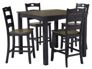Picture of Froshburg 5 Pc Square Counter Height Dining Set